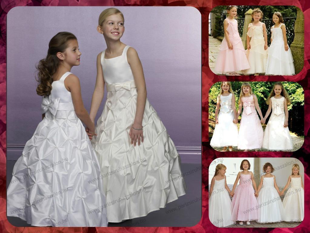 Elsőáldozó és alkalmi ruhák fehér színben.  88996a8bb0