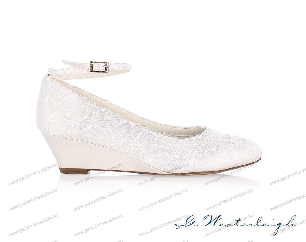 1685263e5f IRIS MENYASSZONYI CIPŐ | Szatén menyasszonyi cipő. (cikkszám: IRIS  MENYASSZONYI CIPŐ)