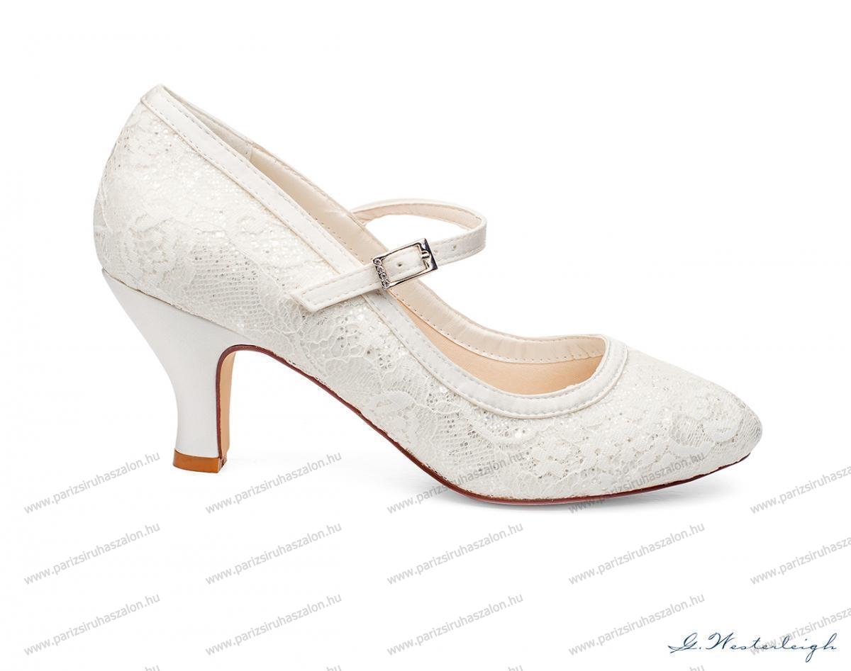 a383f9df56 MEGAN MENYASSZONYI CIPŐ   Szatén menyasszonyi cipő. (cikkszám: MEGAN MENYASSZONYI  CIPŐ)