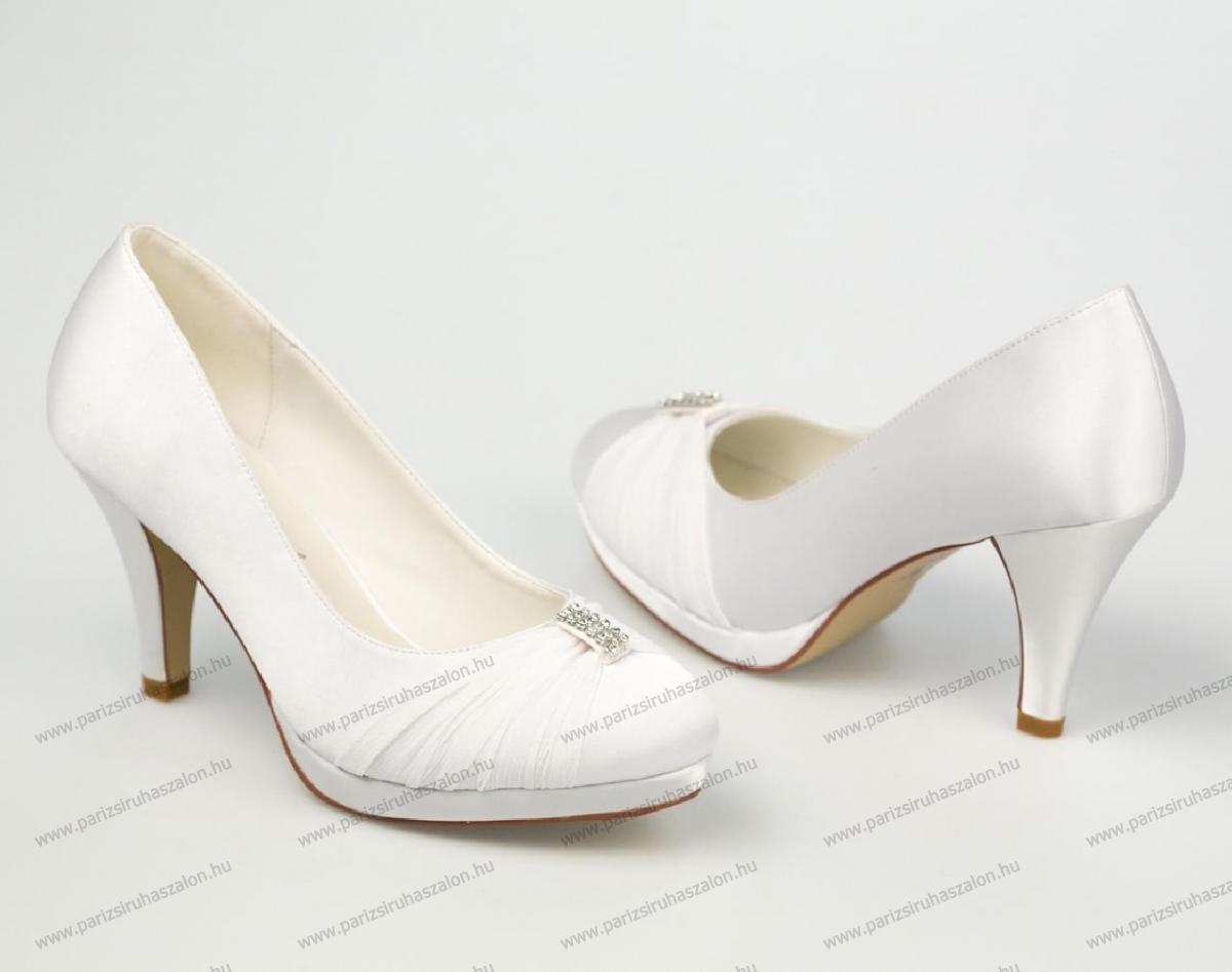 1f7794a318 HANNAH MENYASSZONYI CIPŐ   AKCIÓS esküvői, alkalmi cipő VÉGKIÁRUSÍTÁS!  (cikkszám: HANNAH MENYASSZONYI CIPŐ)