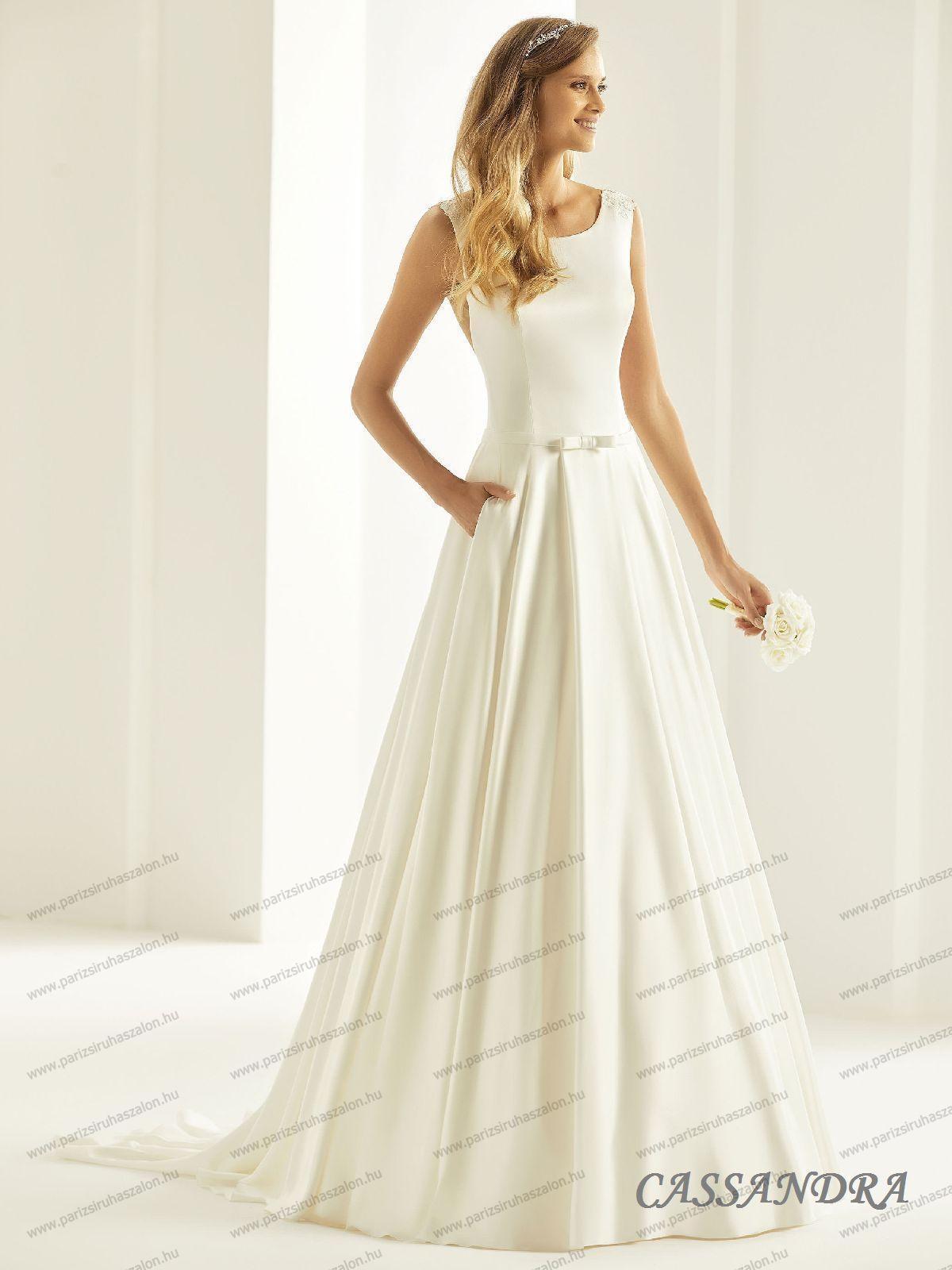 ab0aad80c8 CASSANDRA menyasszonyi ruha | BIANCO EVENTO német hosszú, és rövid  menyasszonyi ruhák. (cikkszám: CASSANDRA menyasszonyi ruha)