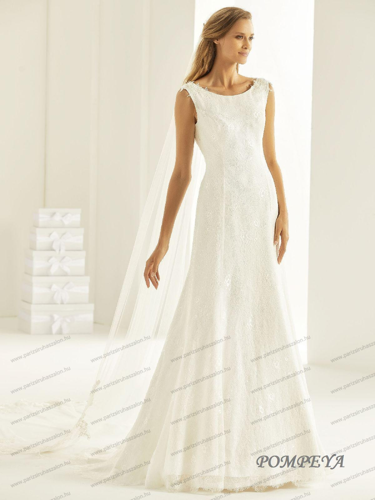 POMPEYA menyasszonyi ruha  816e06420b