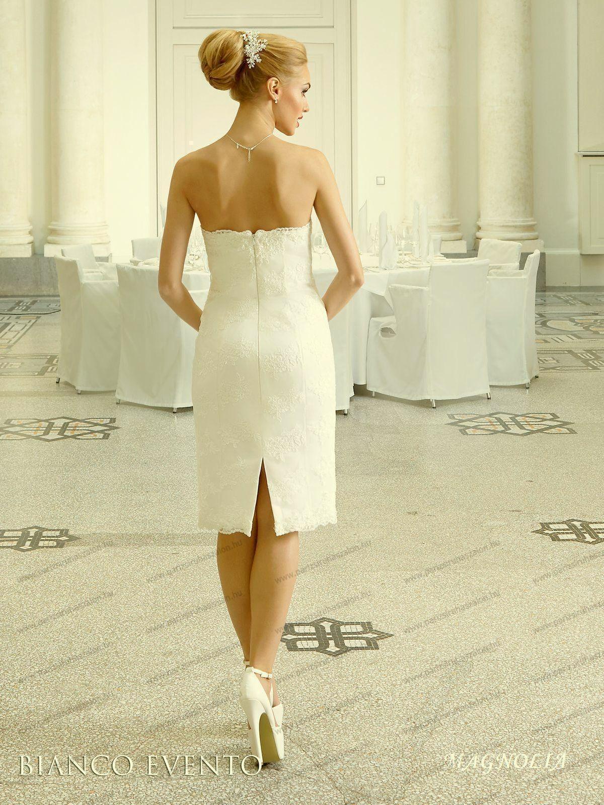 d92a3d2c3b Magnolia rövid esküvői ruha   Olasz esküvői és alkalmi ruhaszalon