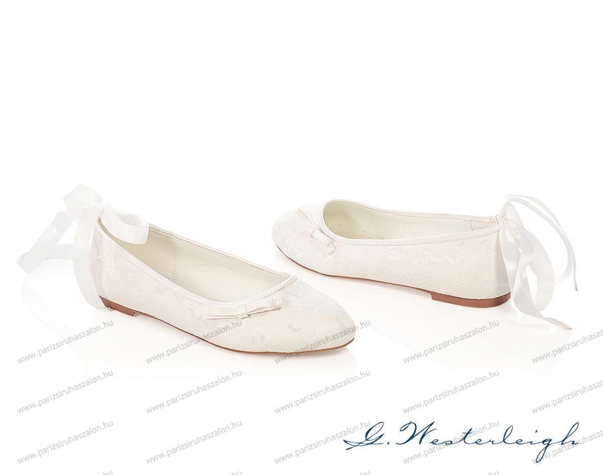 b80be7531b LOTTIE MENYASSZONYI CIPŐ | Szatén menyasszonyi cipő. (cikkszám: LOTTIE  MENYASSZONYI CIPŐ)