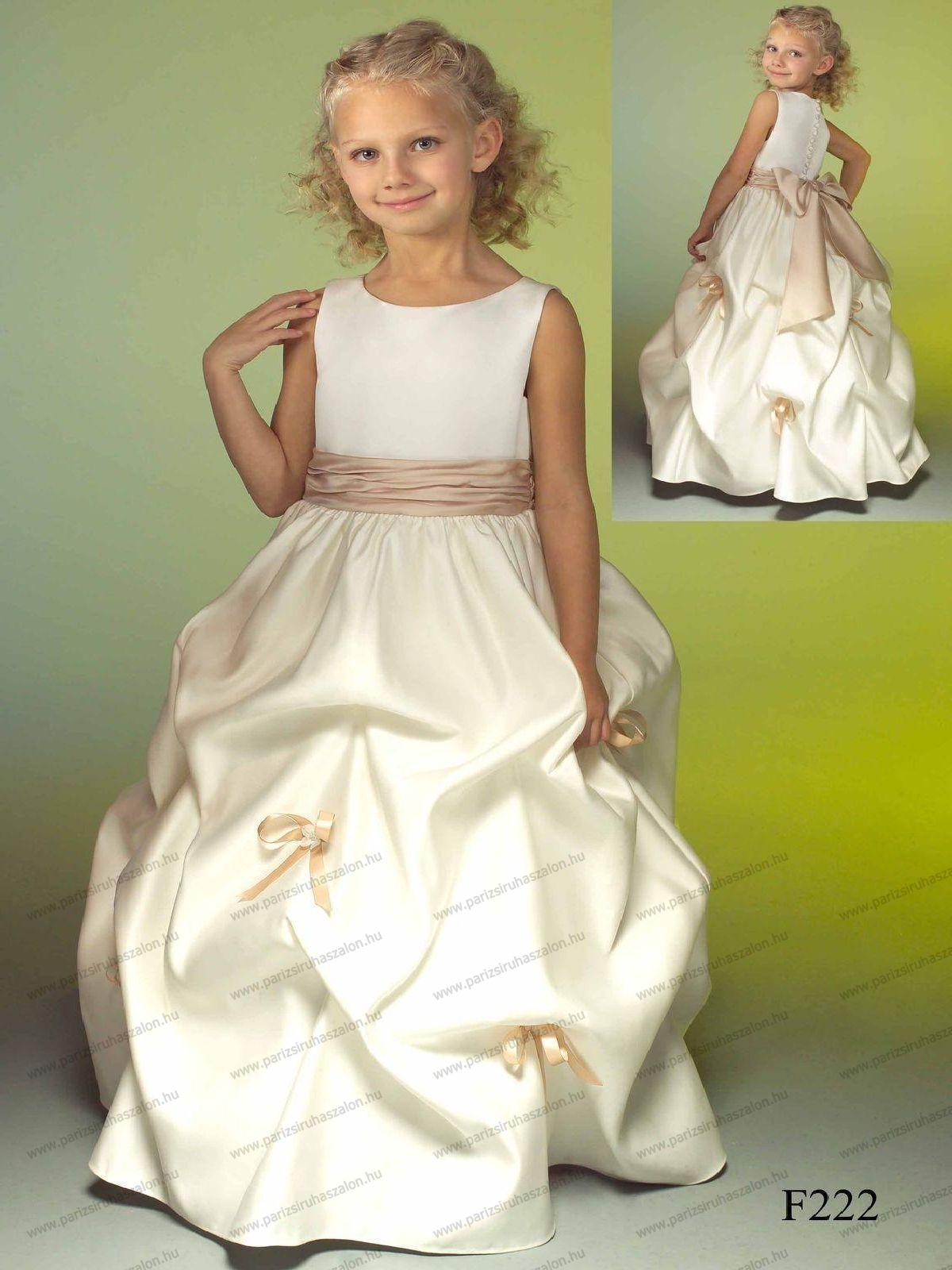 ae02b646fd Venus F222 122 cm koszorúslány ruha. | Koszorúslány és Elsőáldozó ruhák  Venus. (cikkszám: Venus 89)