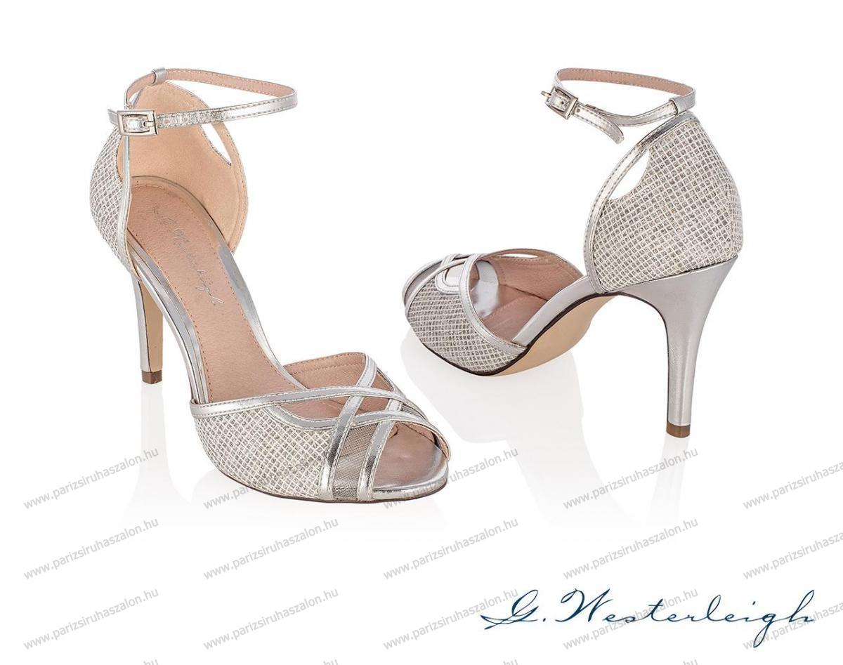 ad352c85a2 Granada ezüst színű alkalmi szandál | AKCIÓS esküvői, alkalmi cipő  VÉGKIÁRUSÍTÁS! (cikkszám: Granada ezüst)
