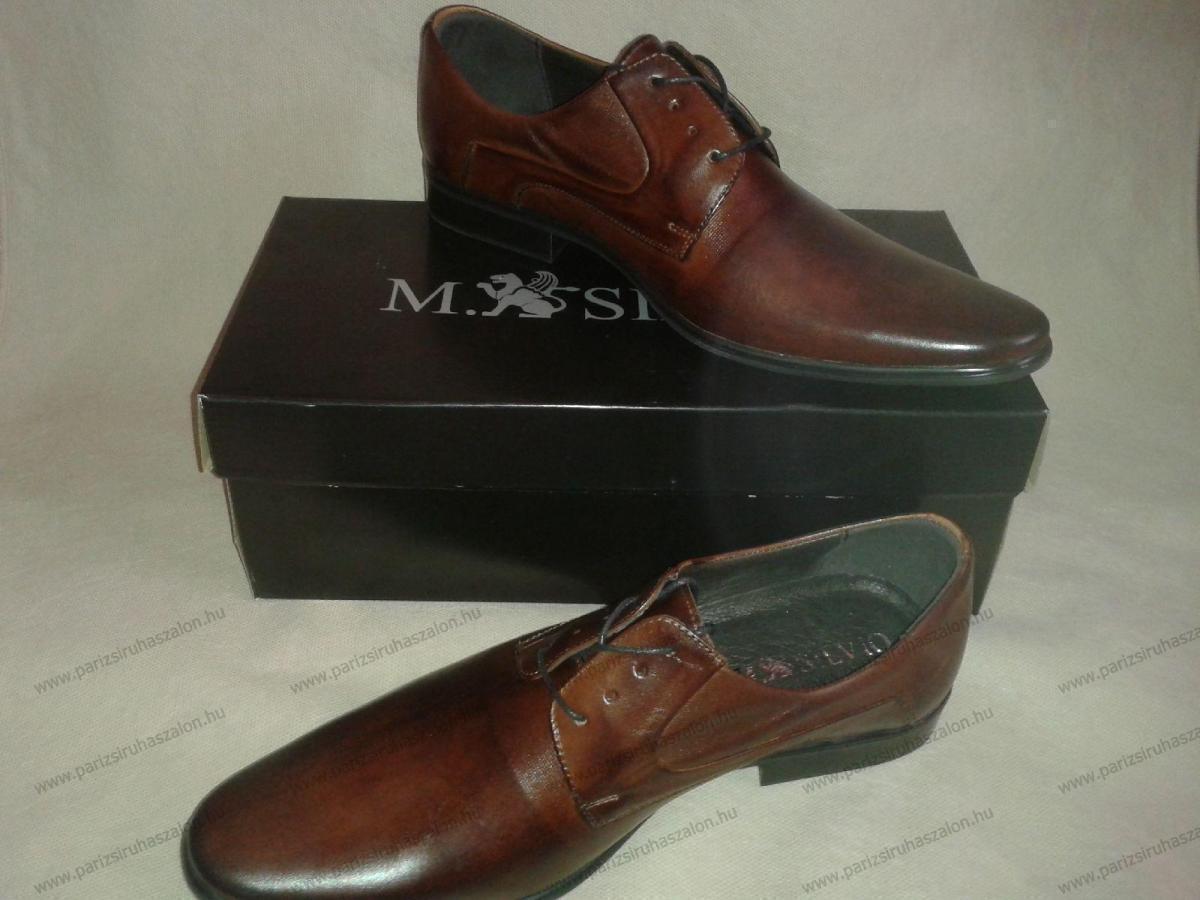 762e195a36 M.Silvio férfi barna bőr cipő | Férfi bőr cipők, Wilvorst és M.Silvio.  (cikkszám: i-4491/k-041-105/1 )