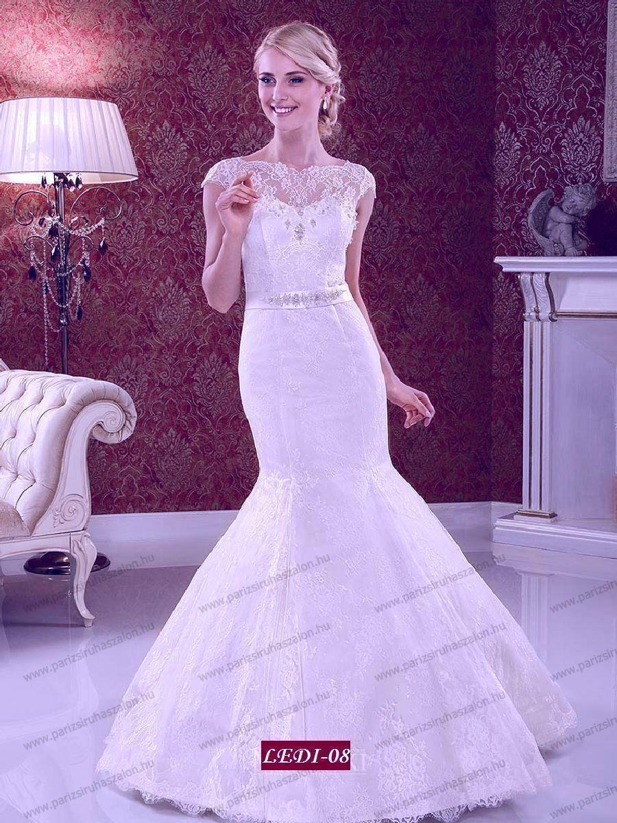 6e75ce27c6 Tüll- csipke menyasszonyi ruha Ledí-08 | TÜLL menyasszonyi ruhák 2019.  (cikkszám: Tüll menyasszonyi ruha 36)