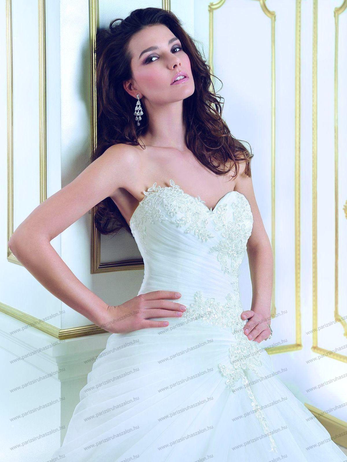 c4b17567a7 COSMOBELLA 7736 Esküvői ruha | COSMOBELLA Olasz Menyasszonyi ruhák.  (cikkszám: 293)