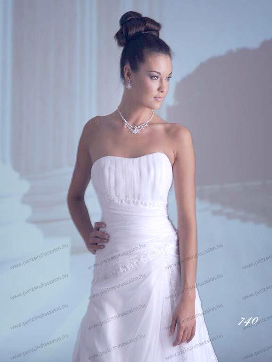 e1750c9b80 42-es Menyasszonyi Ruha BRIDALANE 740. 108 | AKCIÓS Menyasszonyi ruhák  KIÁRUSÍTÁSA. (cikkszám: 108)