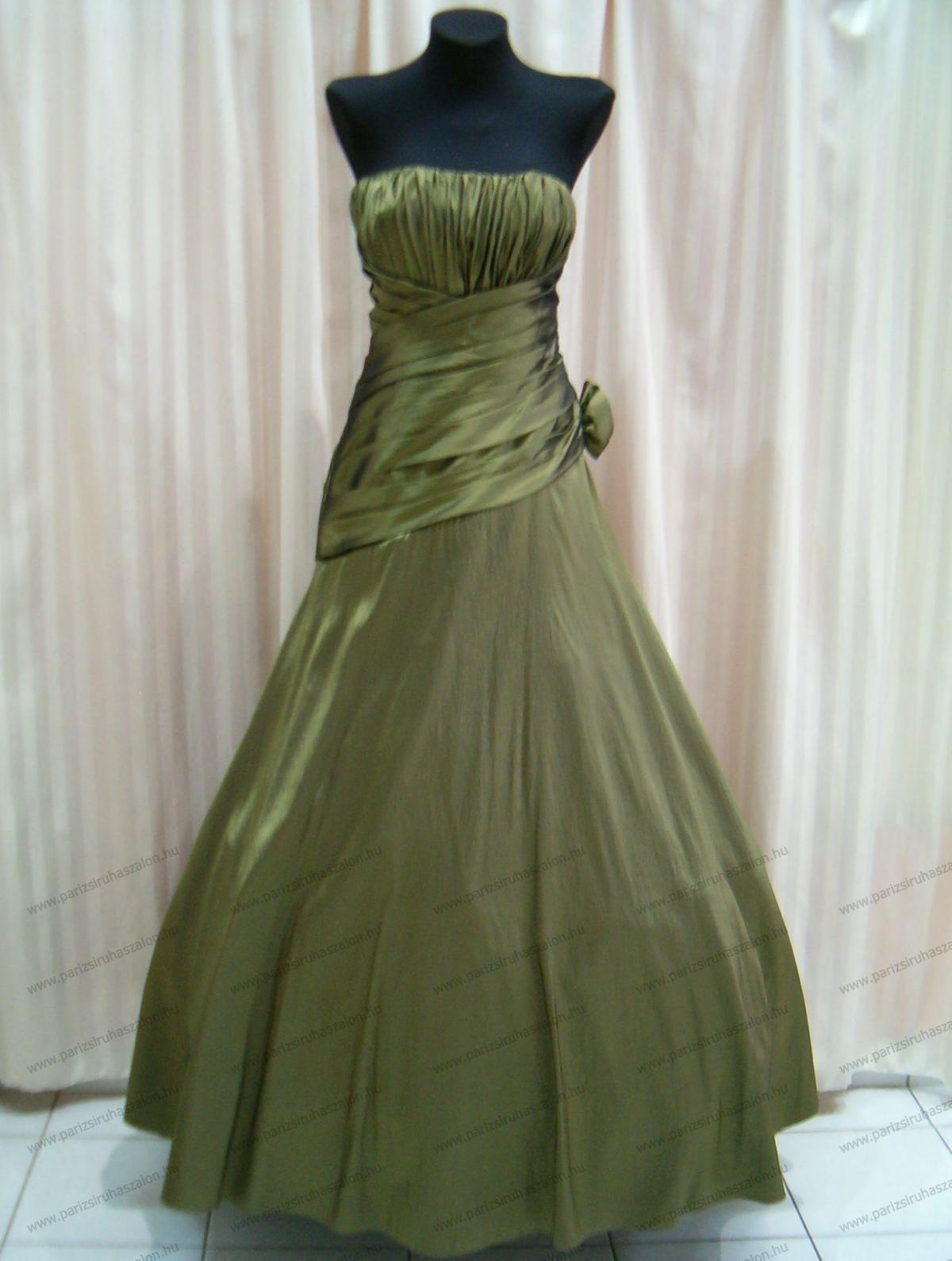 4cb10b10a4 42-es színes MENYASSZONYI ruha 375   Női hosszú alkalmi, koszorúslány,  estélyi és színes menyasszonyi ruhák. (cikkszám: 375)
