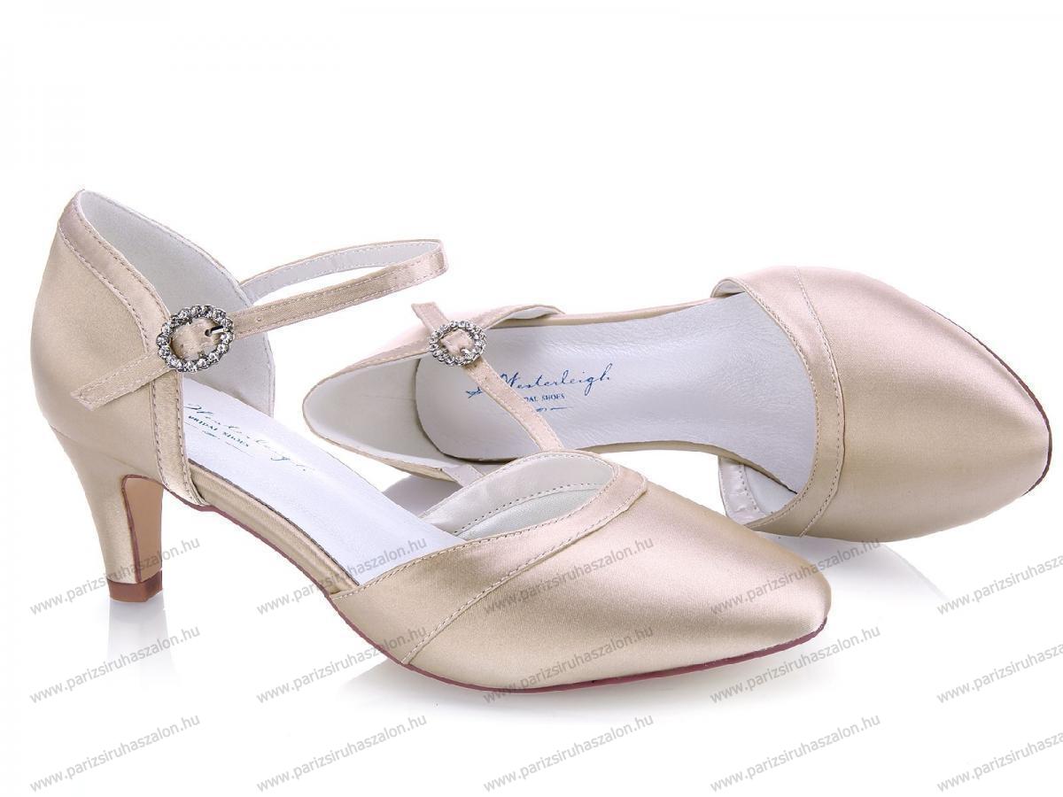 643dea5271 MONA MENYASSZONYI CIPŐ | Szatén menyasszonyi cipő. (cikkszám: MONA  MENYASSZONYI CIPŐ)