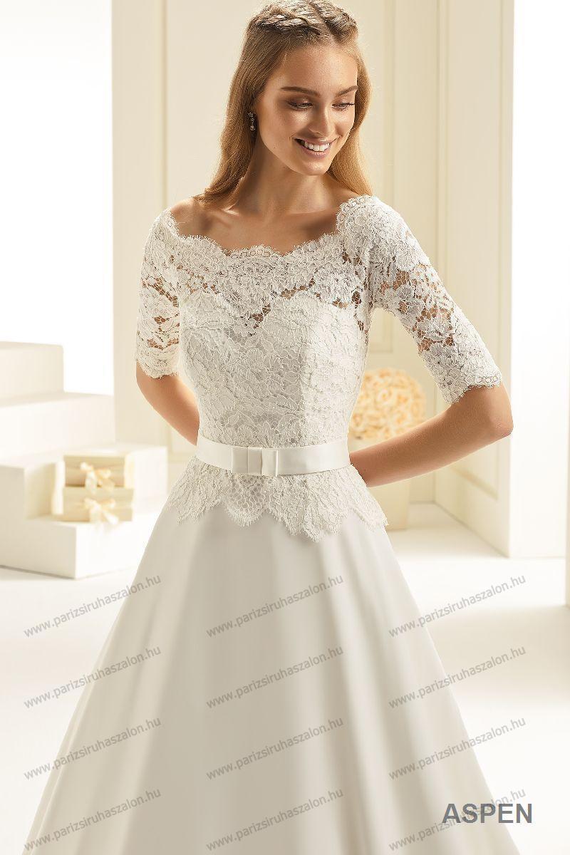 ed580093ef Aspen menyasszonyi ruha | BIANCO EVENTO német hosszú, és rövid menyasszonyi  ruhák. (cikkszám: Aspen menyasszonyi ruha)