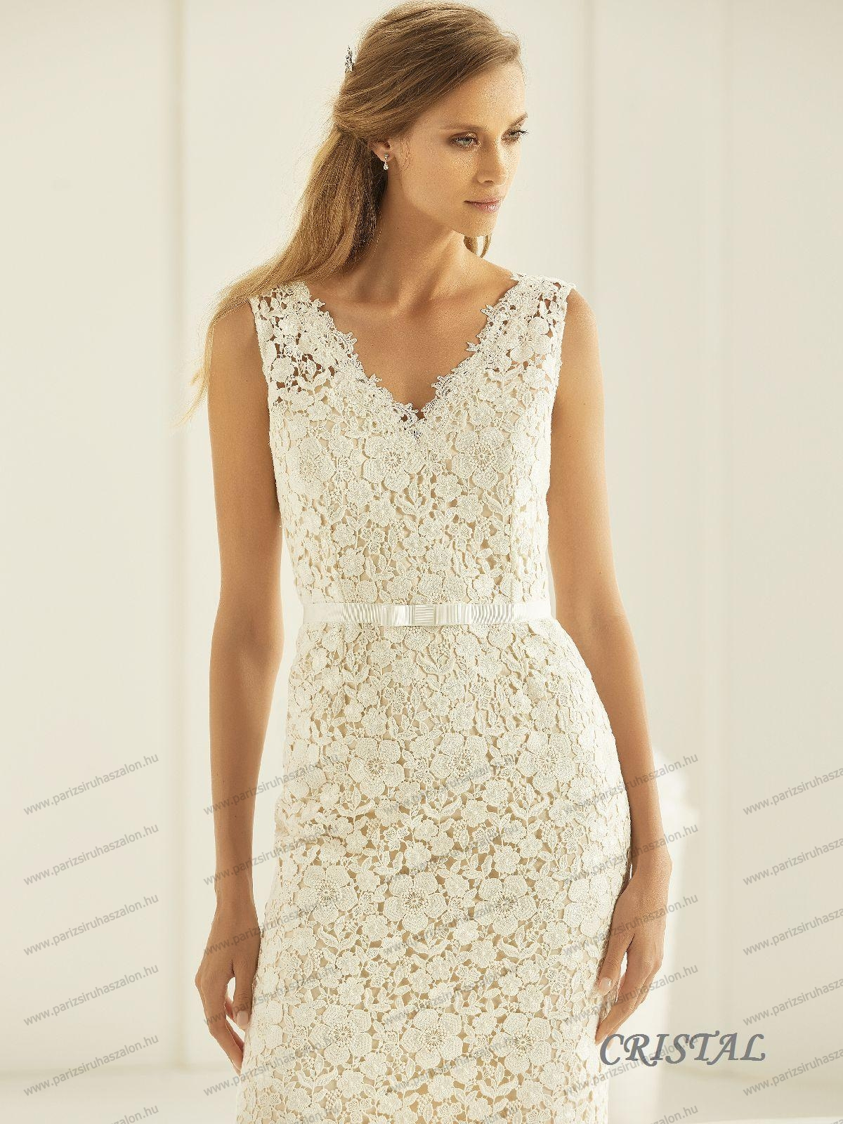dab7828544 CRISTAL menyasszonyi ruha | BIANCO EVENTO német hosszú, és rövid  menyasszonyi ruhák. (cikkszám: CRISTAL menyasszonyi ruha)