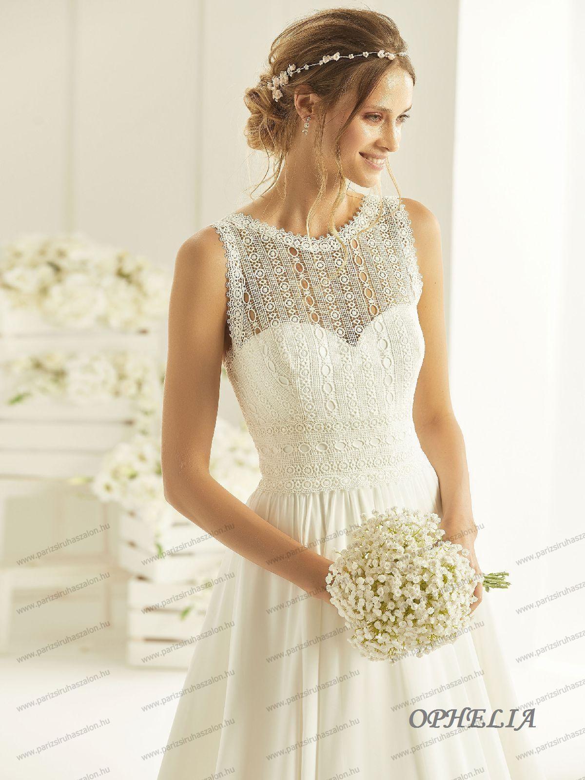 17b543dd6b OPHELIA menyasszonyi ruha | BIANCO EVENTO német hosszú, és rövid  menyasszonyi ruhák. (cikkszám: OPHELIA menyasszonyi ruha)