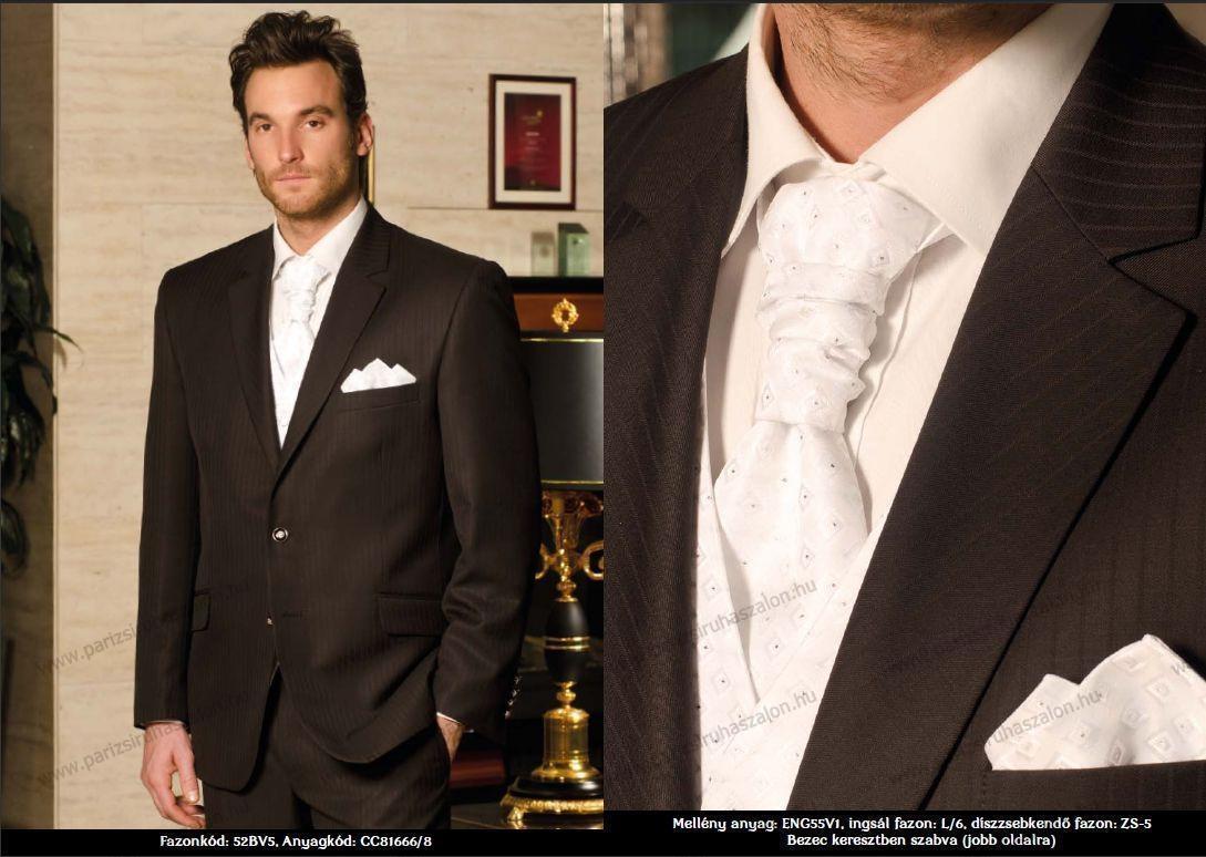 7a9b48eb1f Carlo Benetti öltöny, mellény, nyakkendő és mérettábla katalógus ...