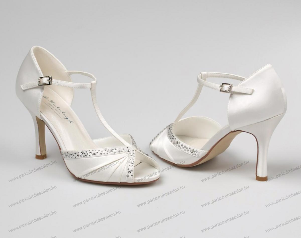 609bd69da2 TIFFANY MENYASSZONYI CIPŐ | Szatén menyasszonyi cipő. (cikkszám: TIFFANY MENYASSZONYI  CIPŐ)